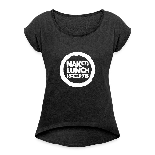 Naked Lunch Logo 2020 - Women's T-Shirt with rolled up sleeves