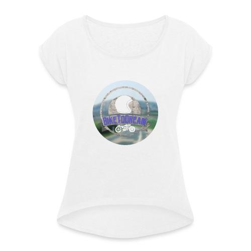 BikeToDream - T-shirt à manches retroussées Femme