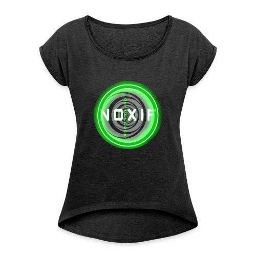 LASTRECORDS - T-shirt à manches retroussées Femme