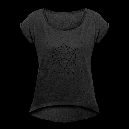 Revolutionary - Camiseta con manga enrollada mujer