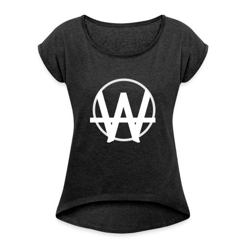 Law Kolleg - Frauen T-Shirt mit gerollten Ärmeln