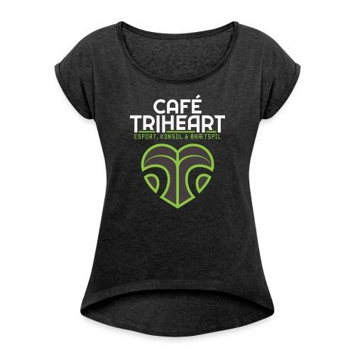 Triheart Logo - Dame T-shirt med rulleærmer