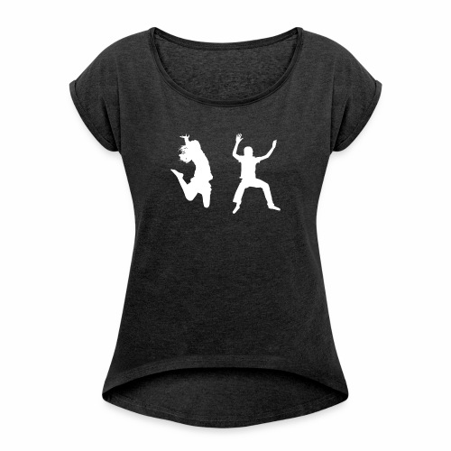 Trampoline - Women's T-Shirt with rolled up sleeves