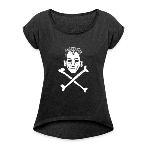teschio giordano - Maglietta da donna con risvolti