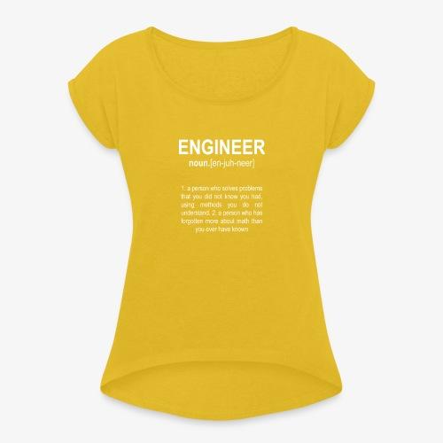 Engineer Def. 2 - T-shirt à manches retroussées Femme