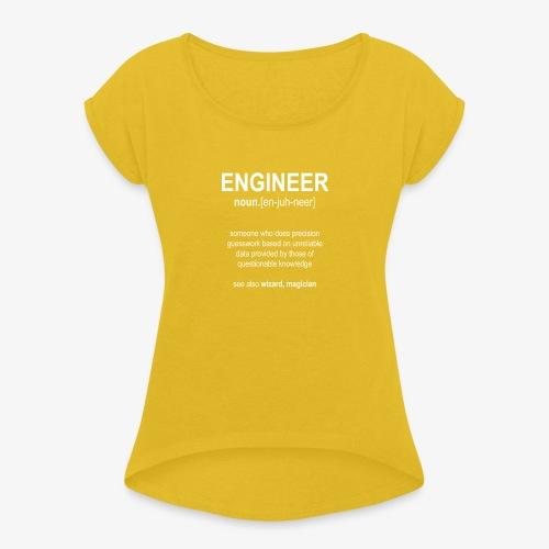 Engineer Def. 01 - T-shirt à manches retroussées Femme