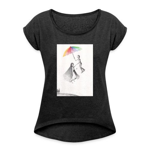 Nel vuoto per mano - Maglietta da donna con risvolti
