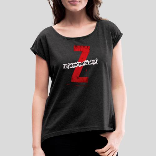 FYLZ - Logo - T-shirt à manches retroussées Femme