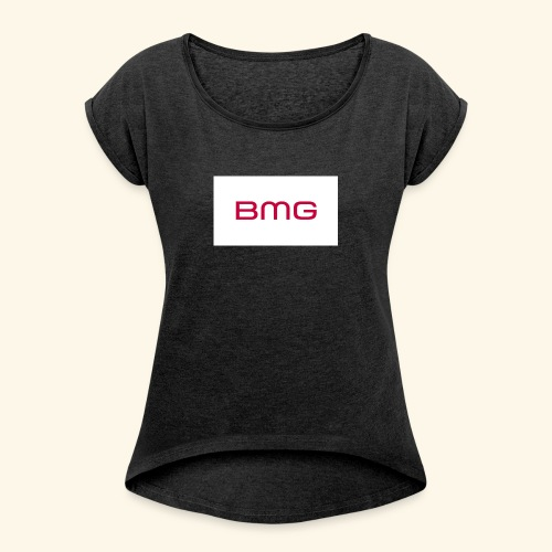 Beat BMG - Women's T-Shirt with rolled up sleeves