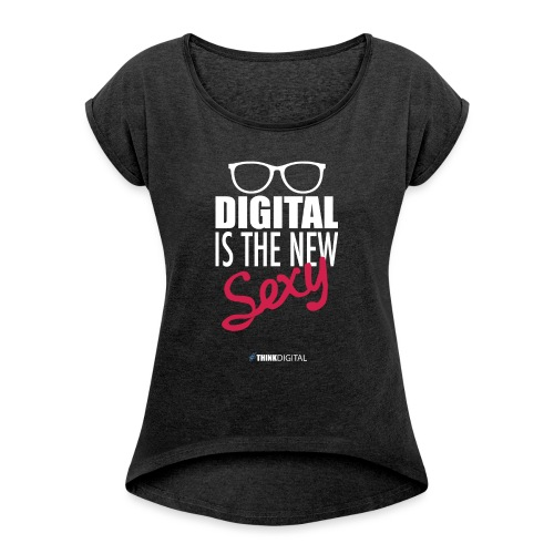 DIGITAL is the New Sexy - Lady - Maglietta da donna con risvolti