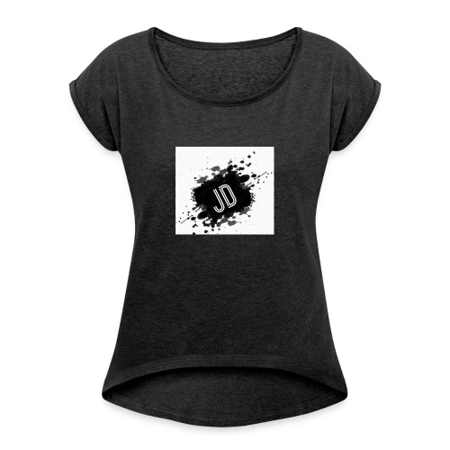 jayden dennis merch - Women's T-Shirt with rolled up sleeves