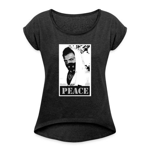 Gangsta - T-shirt à manches retroussées Femme
