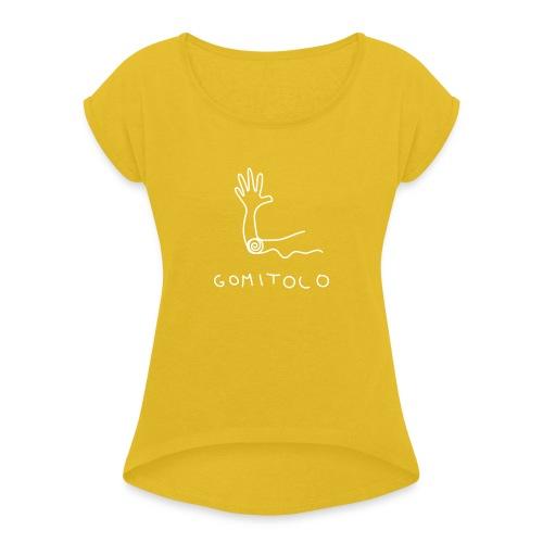 Gomito - Maglietta da donna con risvolti