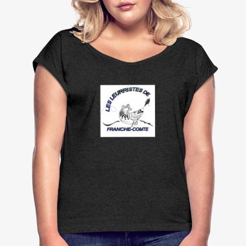 707C8413 2A41 44A4 B395 7C3EE1DAAB80 - T-shirt à manches retroussées Femme