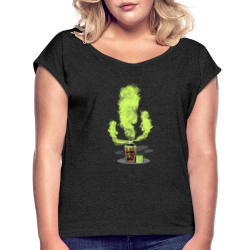 Cactus - Nature doesn´t wait - Camiseta con manga enrollada mujer