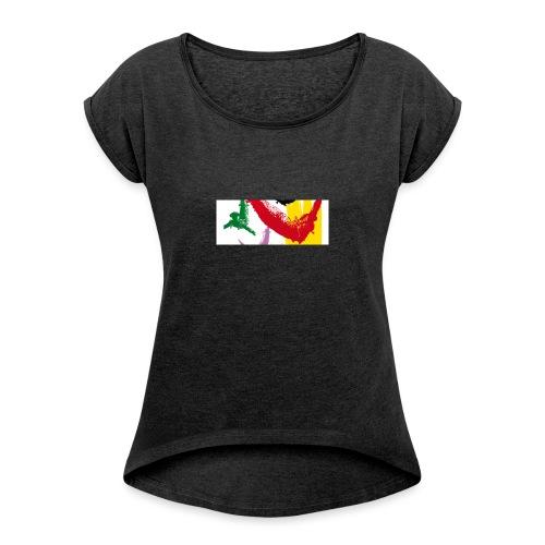 Feria 2017 - T-shirt à manches retroussées Femme