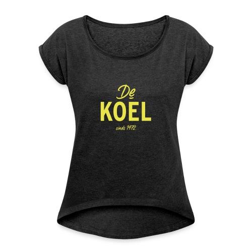 De Koel - Frauen T-Shirt mit gerollten Ärmeln