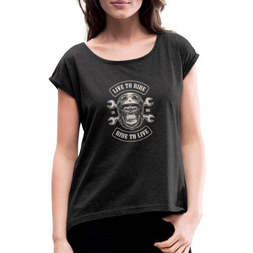LTR Gorilla - T-shirt à manches retroussées Femme