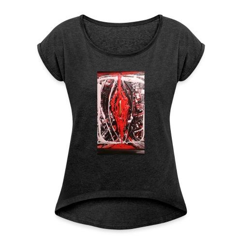 Loverfruit - Maglietta da donna con risvolti