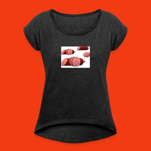 Sal'amis Vente!! =) - T-shirt à manches retroussées Femme