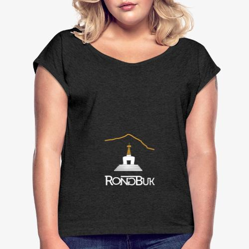 Rongbuk - Women's T-Shirt with rolled up sleeves