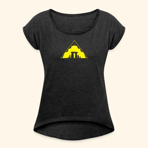 Archaeology - Frauen T-Shirt mit gerollten Ärmeln