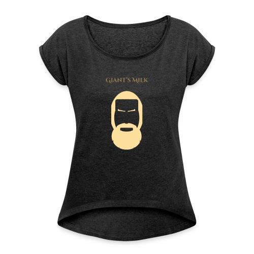 Giant Milk - T-shirt à manches retroussées Femme