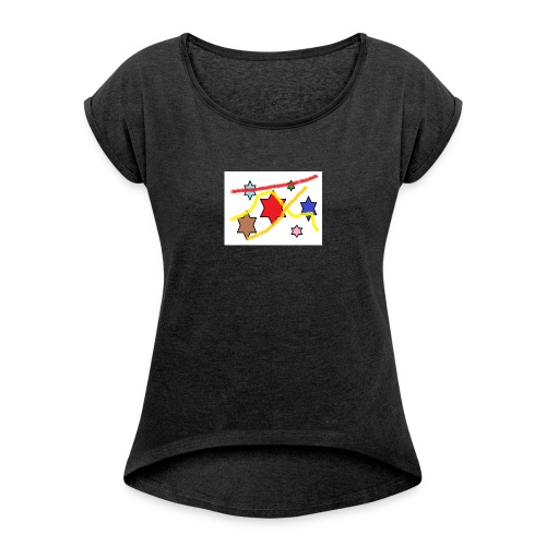 étoile - Women's T-Shirt with rolled up sleeves