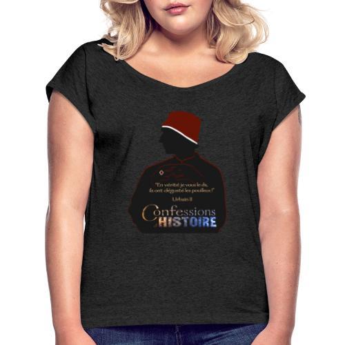Série Citation Urbain II - T-shirt à manches retroussées Femme
