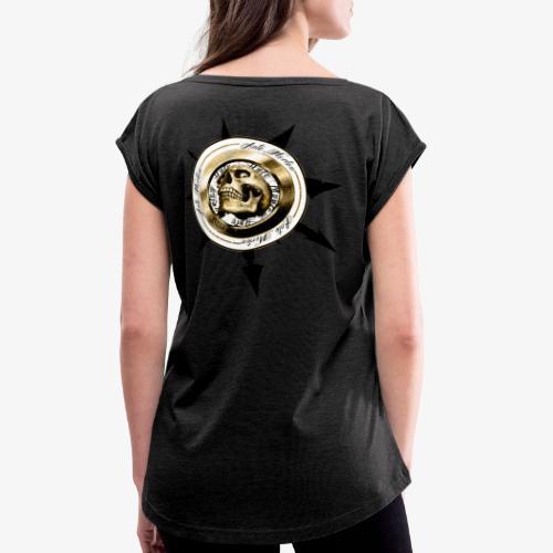 Communauté Ante Mortem Officiel - T-shirt à manches retroussées Femme