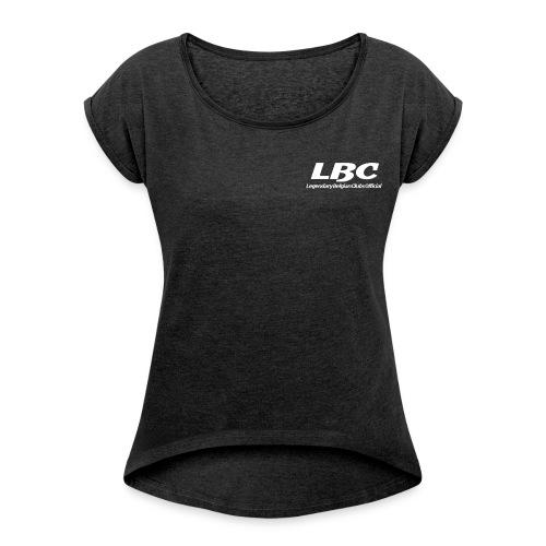 LBCinkt - Vrouwen T-shirt met opgerolde mouwen