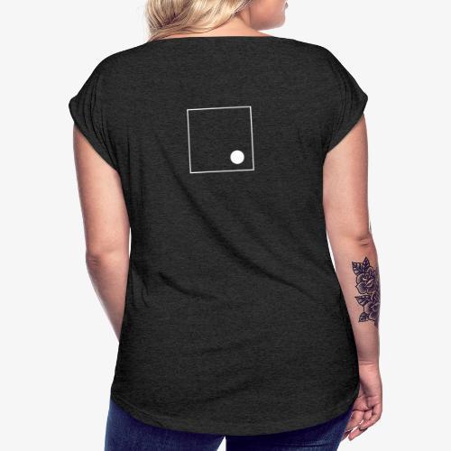 Sans titre 3 png - T-shirt à manches retroussées Femme