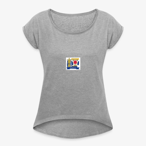 MFCSC Champions Artwork - Women's T-shirt with rolled up sleeves