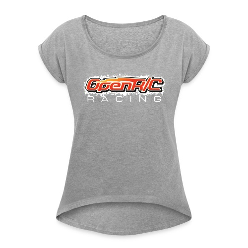OpenR / C Racing - Women's T-shirt with rolled up sleeves