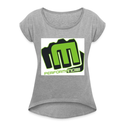 m_performances_jpg - Maglietta da donna con risvolti