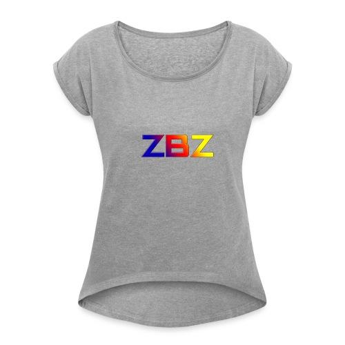 NEW DESIGN ZBZ - T-shirt à manches retroussées Femme