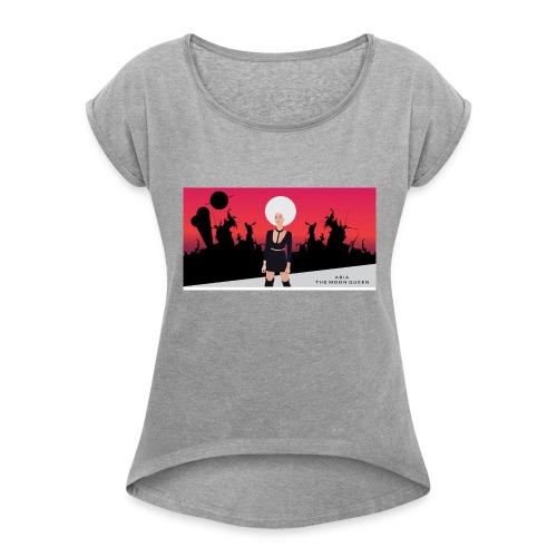 Aria The Moon Queen - T-shirt à manches retroussées Femme