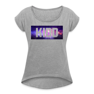 KIDD Galaxy - Women's T-shirt with rolled up sleeves