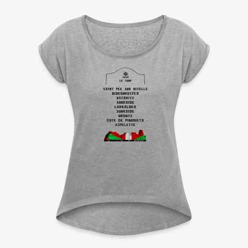 le tour 2018 - T-shirt à manches retroussées Femme