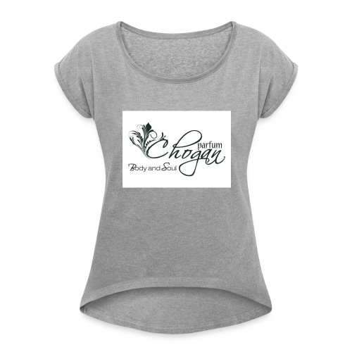 stemmachogan-png - Maglietta da donna con risvolti