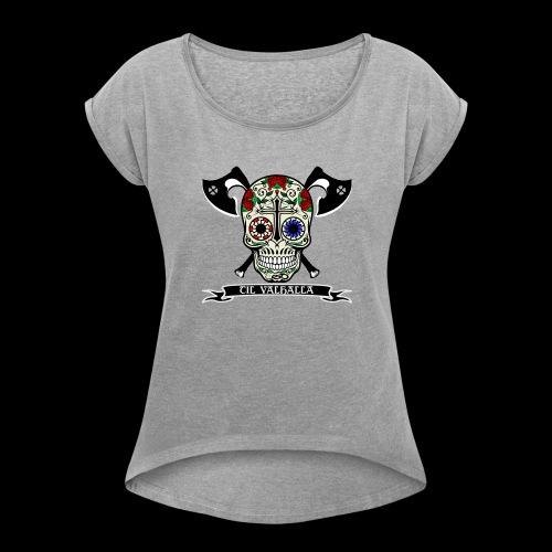 Celtic Calavera - T-shirt à manches retroussées Femme