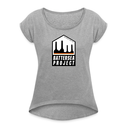 House - Women's T-shirt with rolled up sleeves
