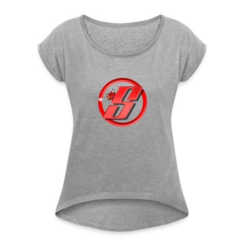 Bull Cloud Shirt - Dame T-shirt med rulleærmer