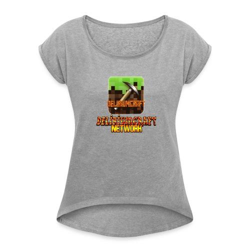 magliette DeliriumCraftNetWork - Maglietta da donna con risvolti