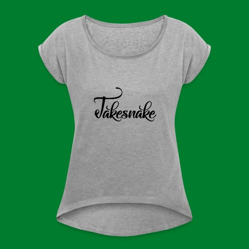 Untitled-1 - Women's T-Shirt with rolled up sleeves