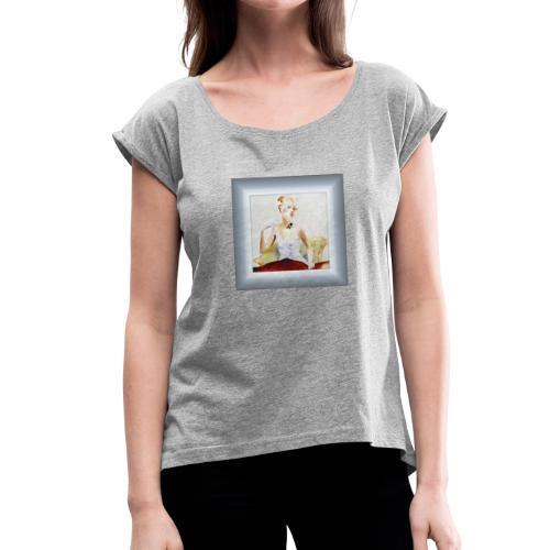 lady - T-shirt à manches retroussées Femme