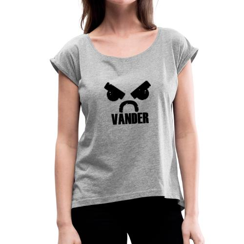 Vander - Women's T-Shirt with rolled up sleeves