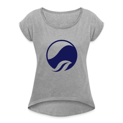 Kyäni - Frauen T-Shirt mit gerollten Ärmeln