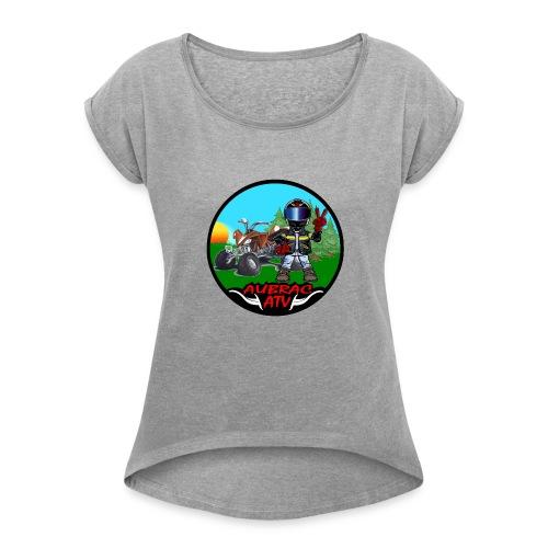 Logo aubrac atv 2 - T-shirt à manches retroussées Femme