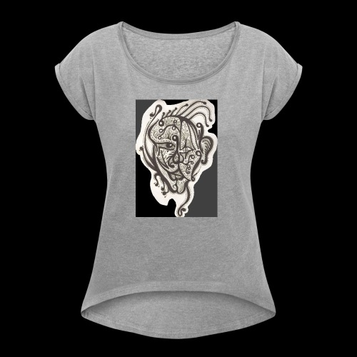 The Draconis Gallery Of Osogoro - Women's T-shirt with rolled up sleeves